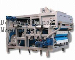 Belt press for liquid-solid separation