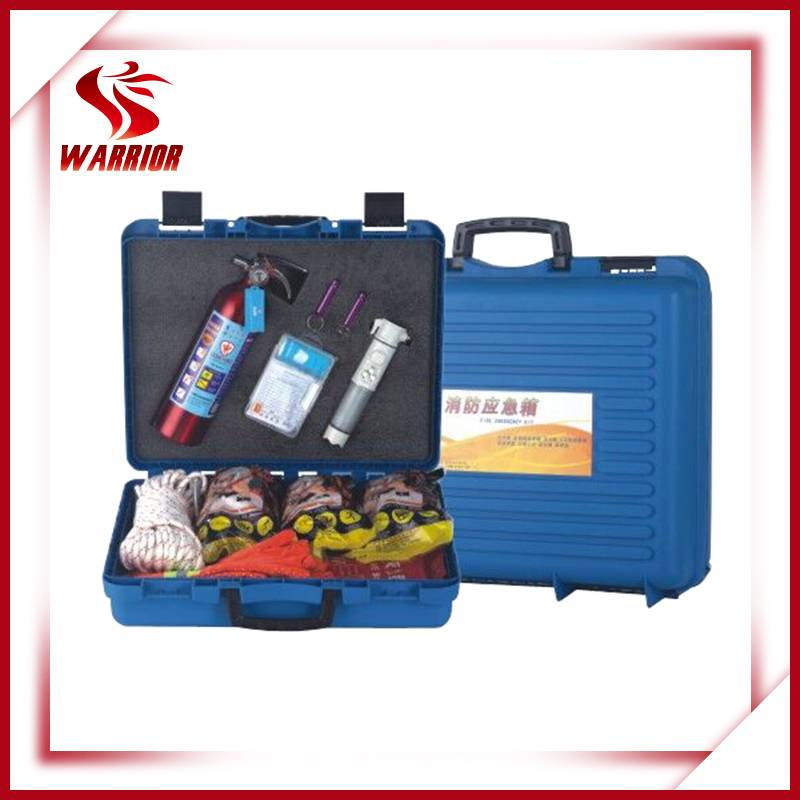 Fire emergency kit, fire escape kit, fire safety equipment
