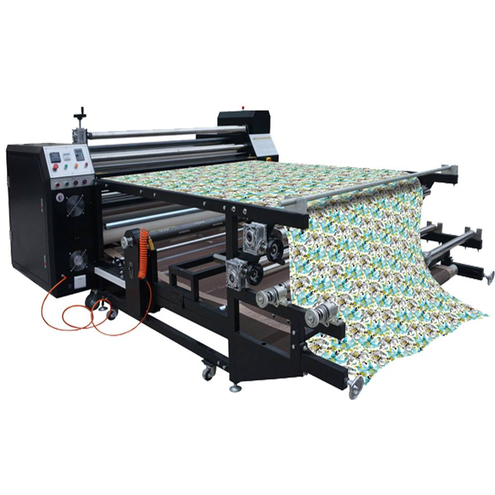 Large Format Sublimation Heat Press / Table Cloth Sublimation Rotary Heat Press