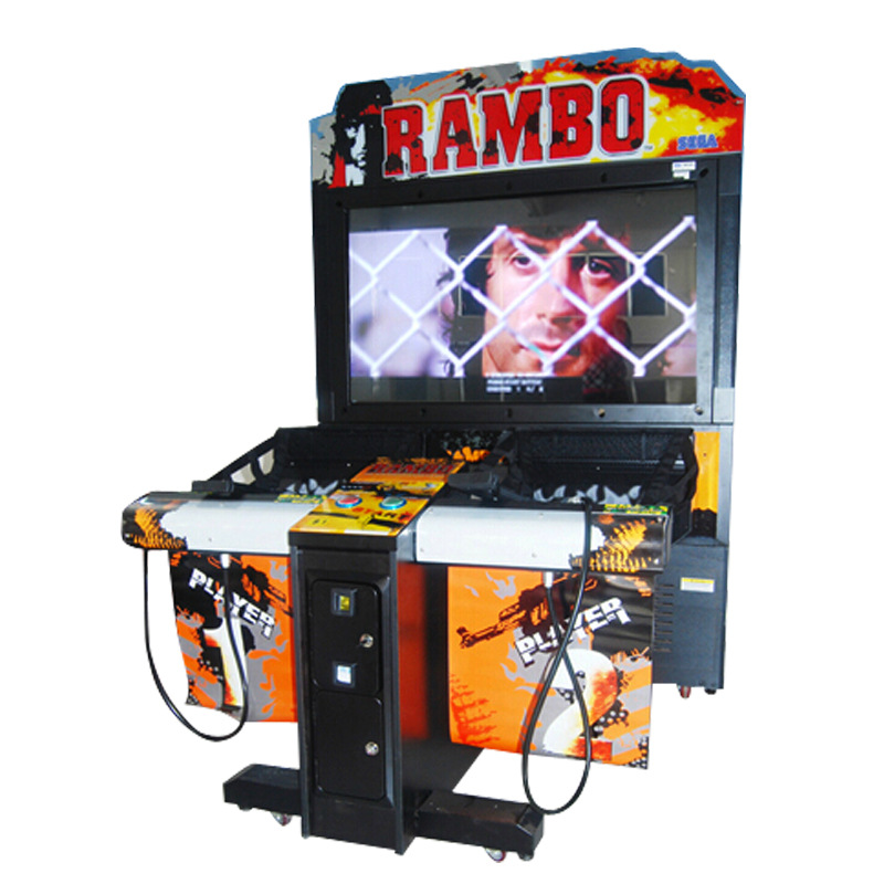 High Quality Shooting Gun Game Coin Operated Arcade Machine LET'S GO Jungle Simulator Game Machine