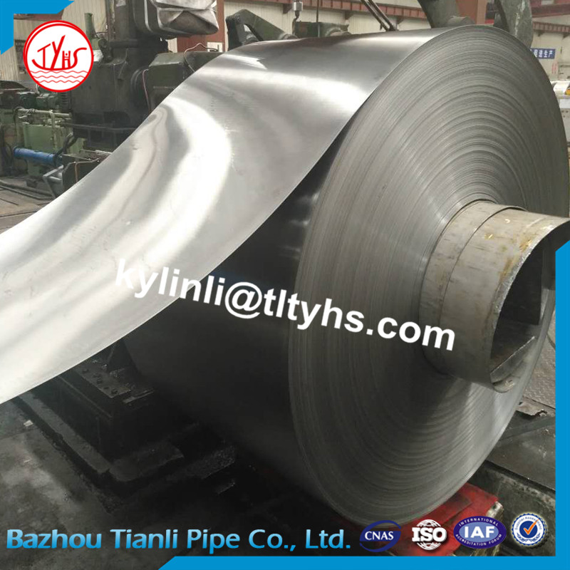 Super thin thickness(0.1-2.5mm) high quality cold rolled band