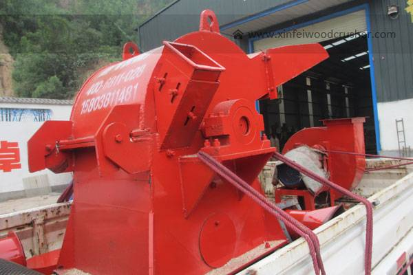 Double Mouth Wood Crusher