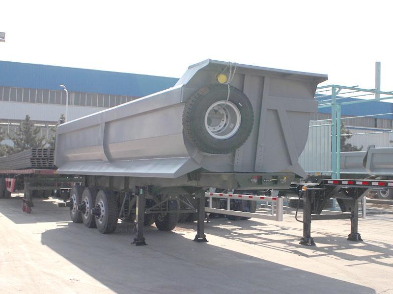 China tipper semi trailer | tipping semi trailer | tipping trailer | tipper trailer | tipping semi t