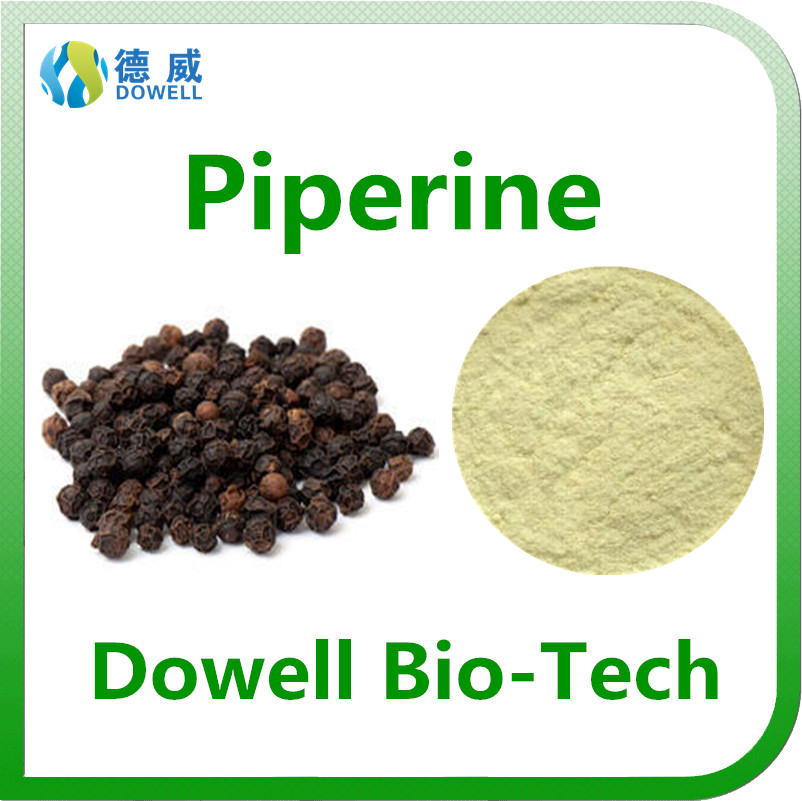 100% Pure Piperine Extract 95%, 98% / Natural Black Pepper Extract Manufacturer