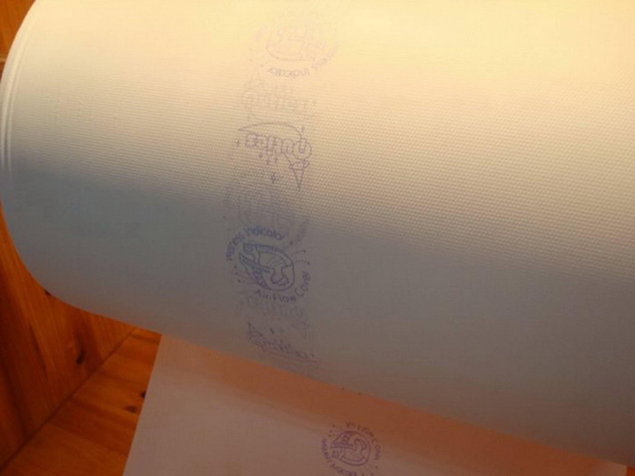Full Laminated Embossed PE Film for Baby Diaper Backsheet with Wetness Indicator