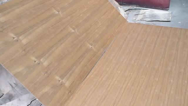 Natural Teak Fancy Plywood