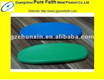 colourful pads furniture spare parts armrest pads D-198-2