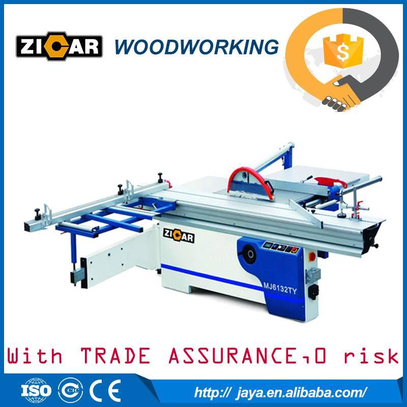 MJ6138TY precision wood cutting sliding table saw machine