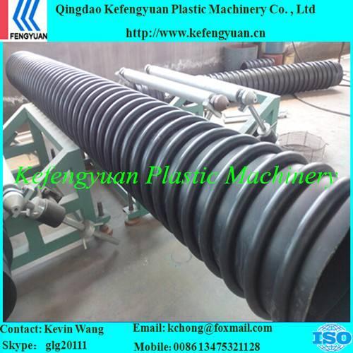 B type structure wall corrugated krah carat pe hdpe pipe tube equipment
