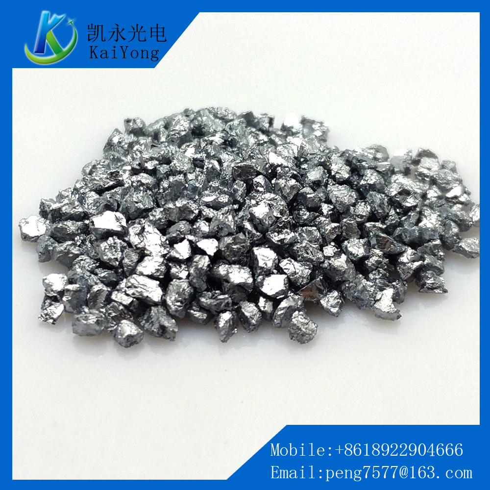 High purity cr grain metallic chromium evaporation materials coating material