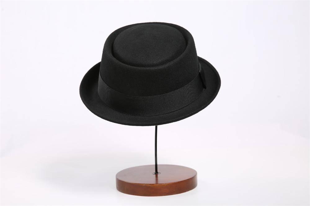 Man Wool Felt Pork Pie Hat (FM023019)