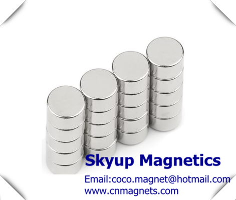 Disc NdFeB magnets used in electric vehicle