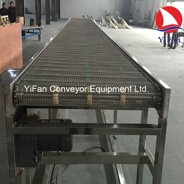 Stainless Steel Mesh Belt Conveyor