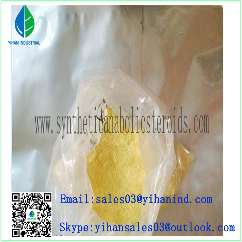 Human Growth-Hormone Steroid Trenbolone Hexahydrobenzyl Carbonate Powder CAS: 23454-330-3 Iris