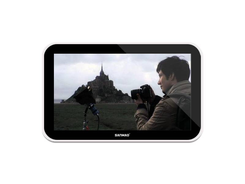 SANMAO 32 Inch HD Wall-mounted LCD Commercial Advertisement Display Screen