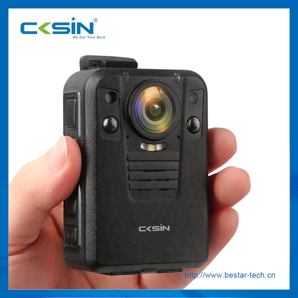 CKSIN 1512P HD Police body worn camera 4G live streaming WIFI GPS Law enforcement recorder 4G camera