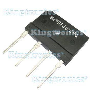 Kingtronics Kt bridge rectifier GBJ610