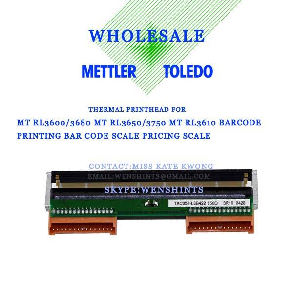 Mettler Toledo 3600 3650 3680 Thermal Print Head- AOI Produce