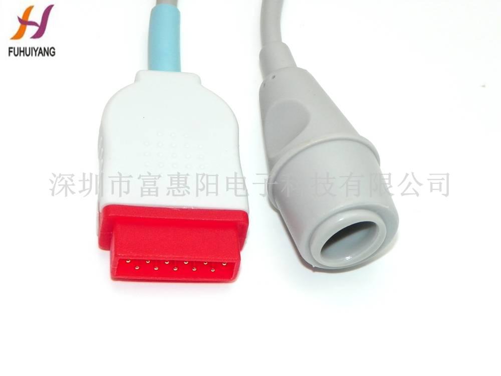 GE 11pin >> Eward invasive pressure transducers cables