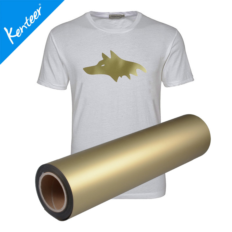 Good pearl effect heat transfer vinyl 0.525m one roll for garments