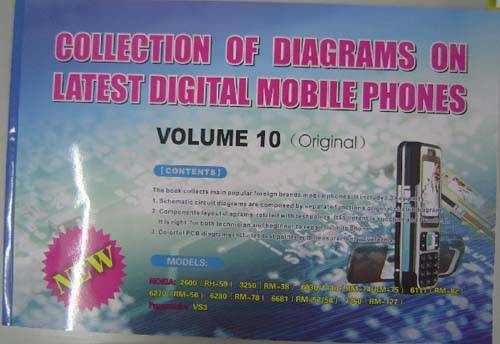 The newest publication for mobile phone repair technique books