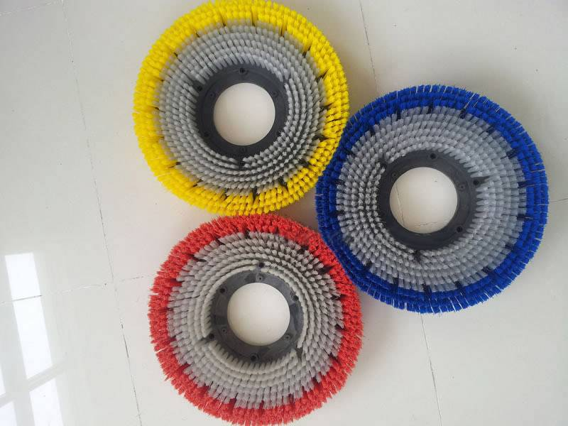 scrubber machine brush for floor cleaning