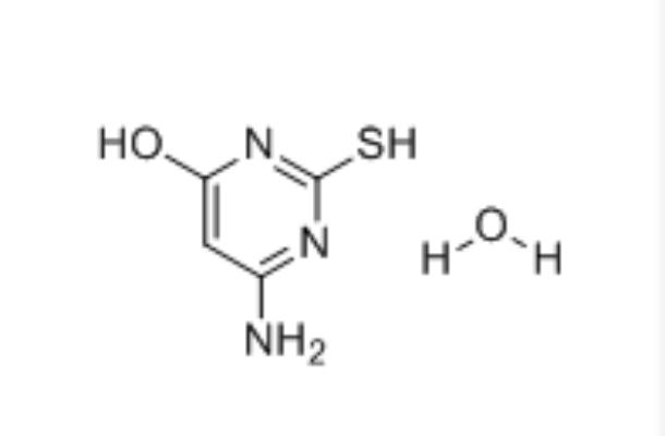 4-Amino-6-hydroxy-2-mercaptopyrimidine monohydrate