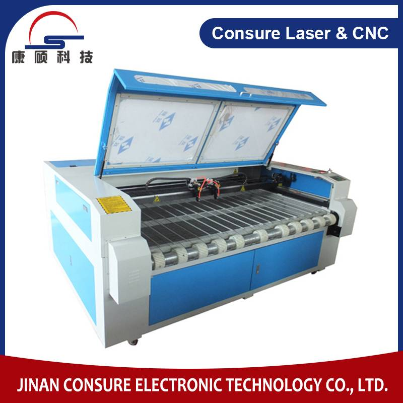 Cloth/Fabric Laser Cutting Machine with auto feed device