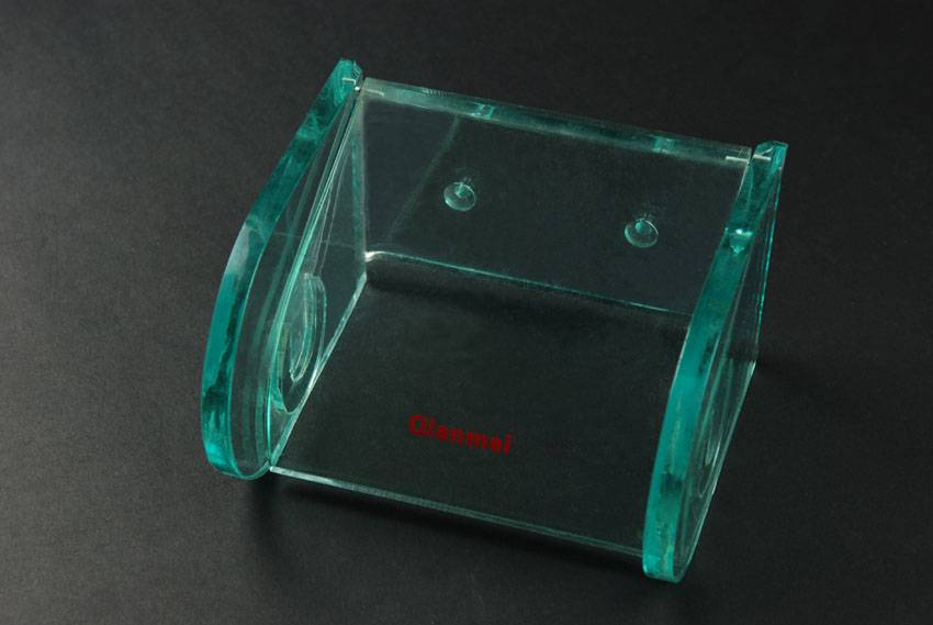 Acrylic tissue holder / rack / stand