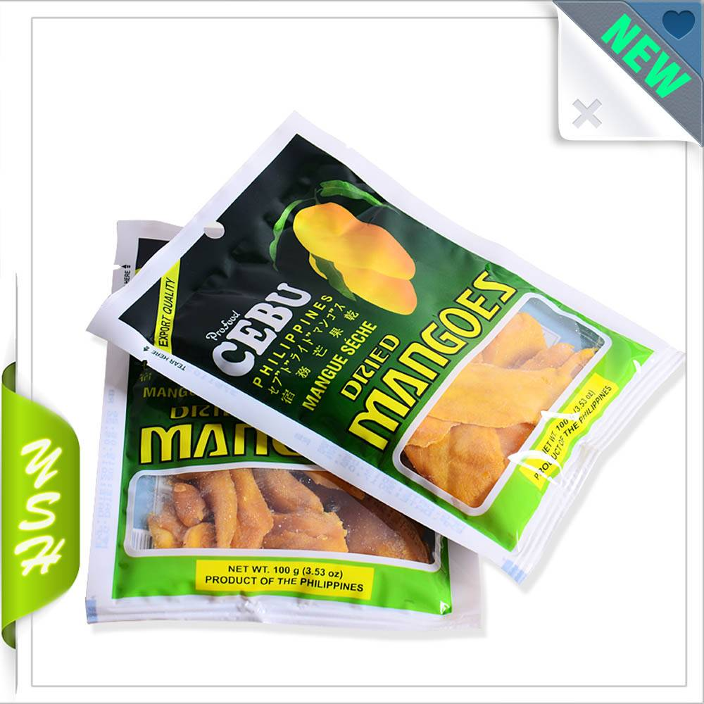 Thailand dry mango packaging bag