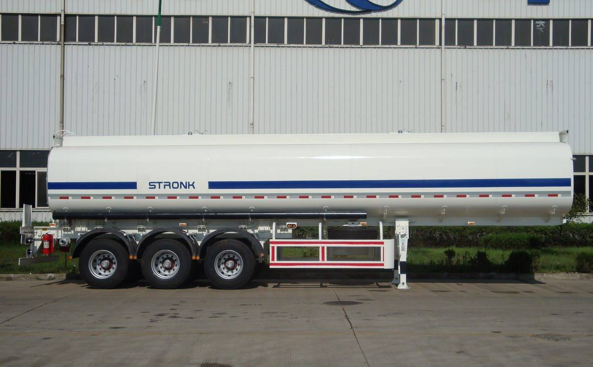3 axle fuel tank semi trailer
