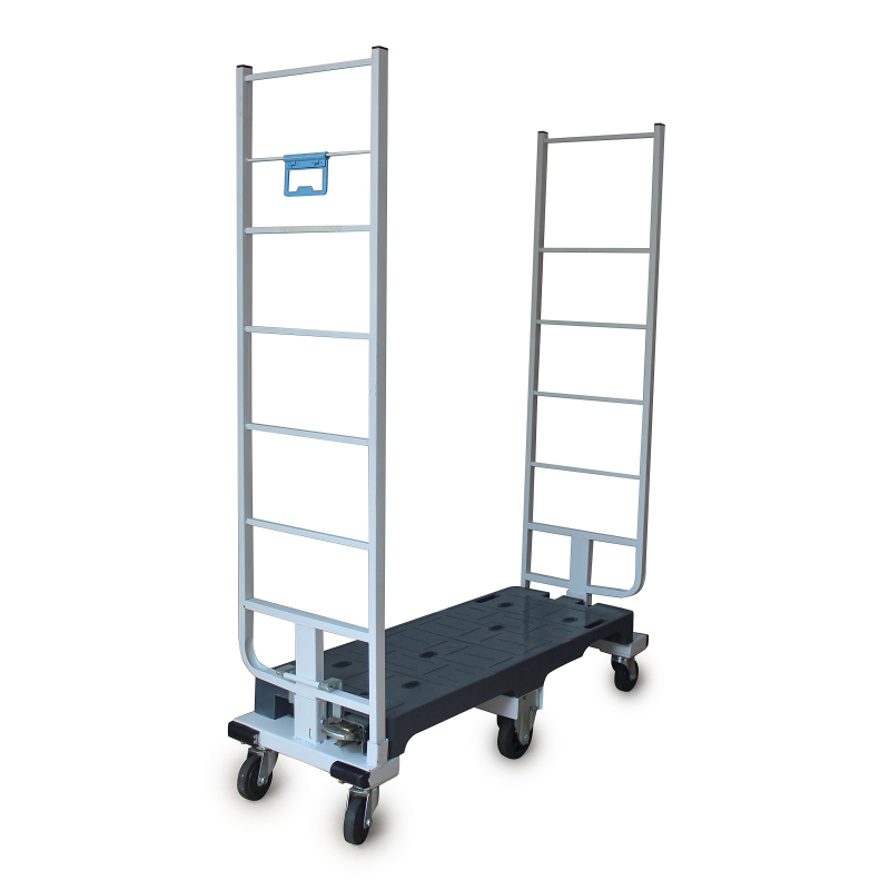 Six Wheels Trolley with Fixed Handles
