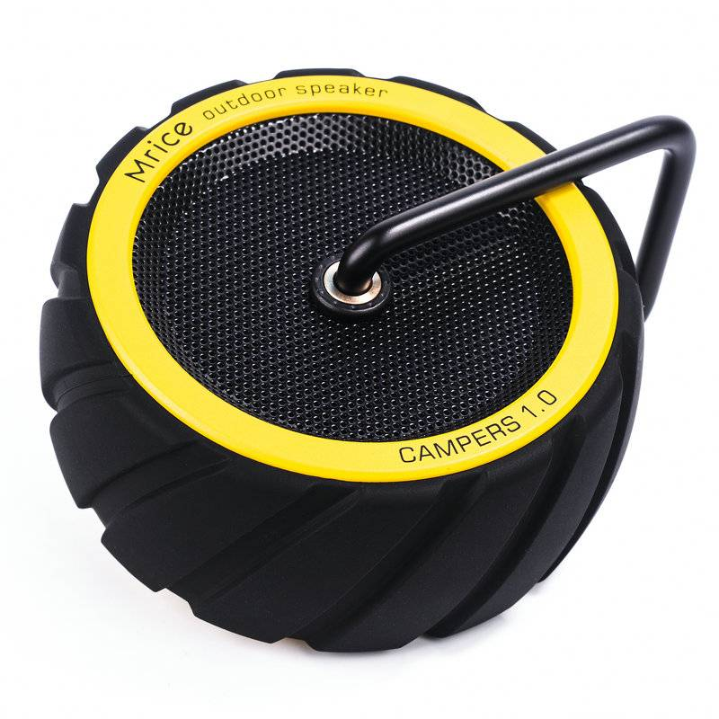 Tyre shape bluetooth speaker with mic hand free call