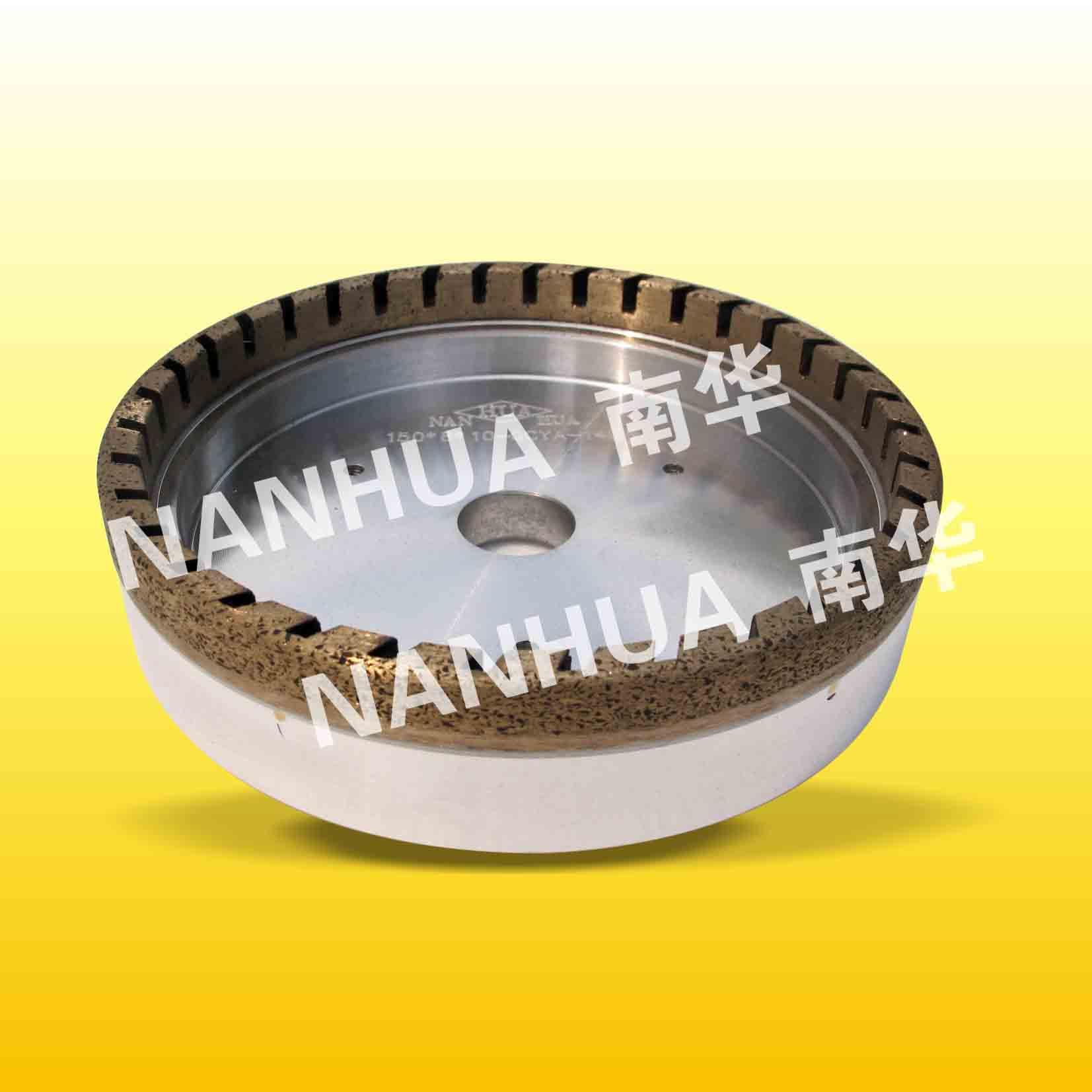 Inside-segmented diamond wheel