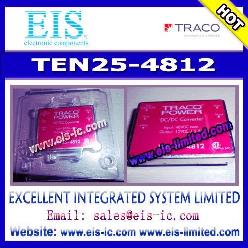 TEN25-4812 - TRACO - DC/DC Converters - TEN 25 Series, 25/30 Watt