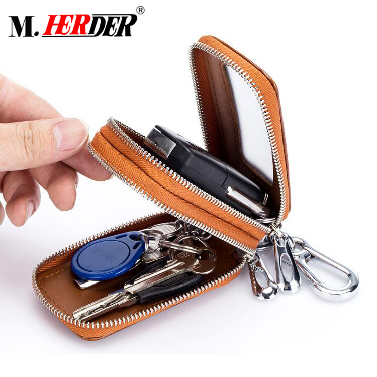 Vintage RFID blocking wallet for men