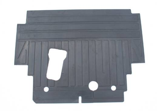 Rubber cab floor mat used for komatsu