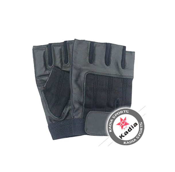 Leather Weight Lifting Gym Gloves