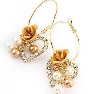 OnlySweetie-Fashion Jewelry-Earring-Alloy-diamonds