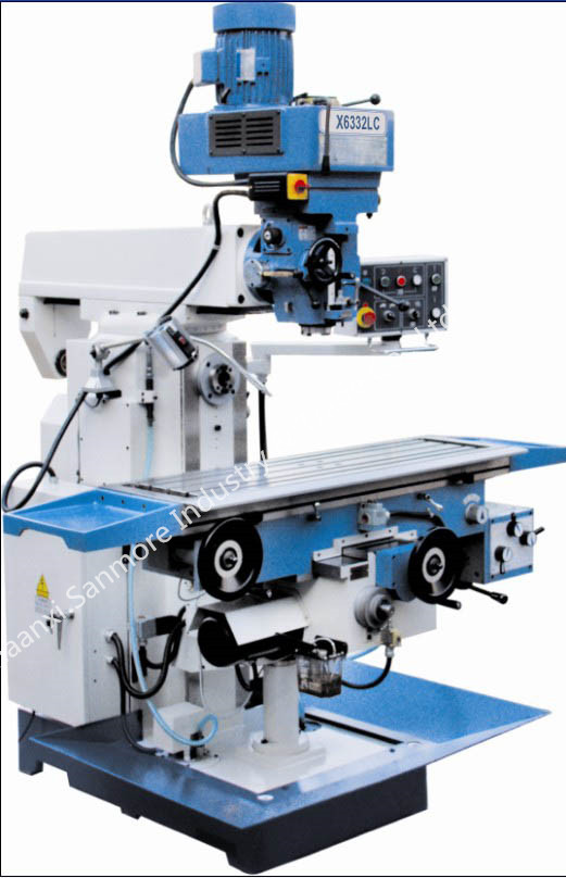 X6332LC Vertical and Horizontal Turret Milling Machine