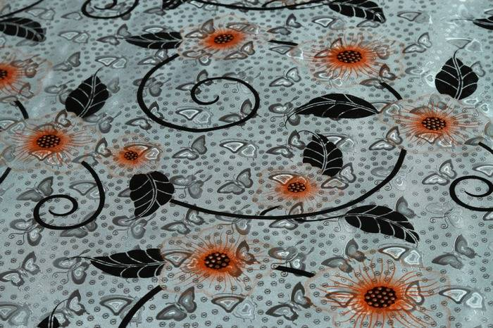 Hot sale in South-America home stuff cover plastic PVC Metal Printed Tablecloth wholesale