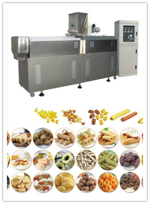 high quality puffed snack production line