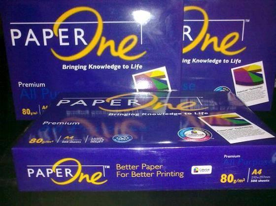 Paper One Premium Paper A4 80GSM