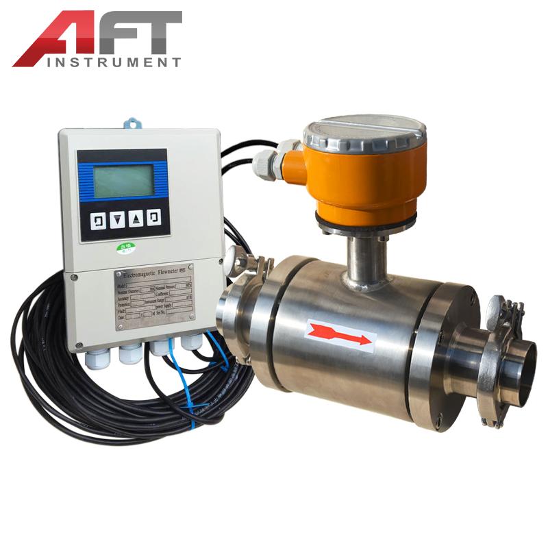 sanitary milk beer electromagnetic flowmeter