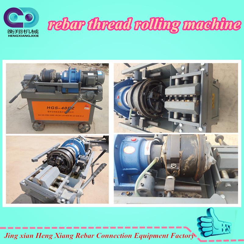 rebar parallel thread rolling machine