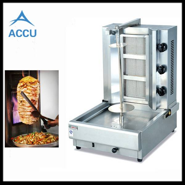 Burner Vertical Broiler Gas Shawarma Machine
