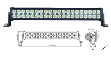 Led worklight, 120w, 10-30V DC aluminium 40pcs 3W light bar for jeep, SUV,ATV driving light  (Led wo