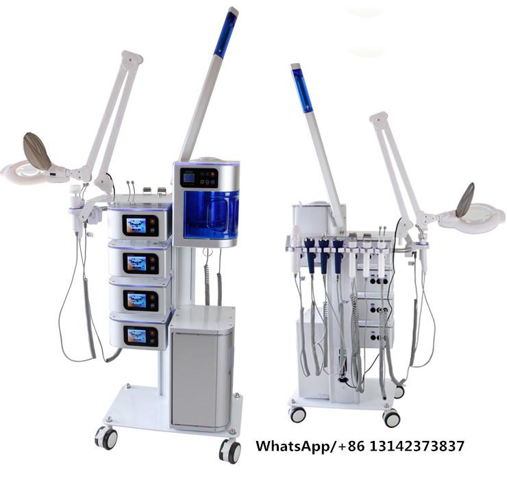 beauty studio machine new face beauty machine/ 7in1 facial beauty salon equipment
