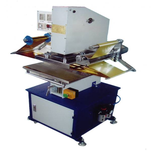 TJ-9 flatbed printer a4 hot foil printing press machine for book cover