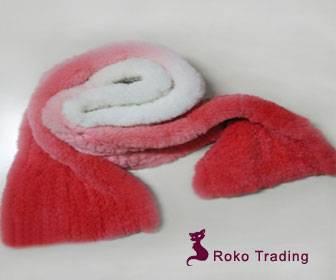 rabbit fur shawl
